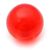Acrylic Ball (Plain) 1.2mm, 3mm / Red