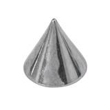Titanium Cones 1.2mm, 3mm, Mirror Polish