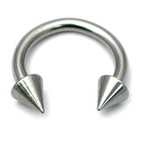 Steel Coned Circular Barbells (CBB) (Horseshoes) 1.2 / 8
