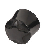 Organic Horn Plug with Raised Star (HP1) 16