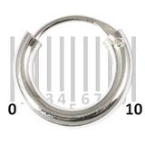 Sterling Silver Hoops - Earrings H1-H20 H16:- Piercing Gauge 0.7mm. Perceived Gauge 2.0mm. Internal Diameter 6.5mm. (1 PAIR)