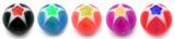 Acrylic Glitter Star Balls 6