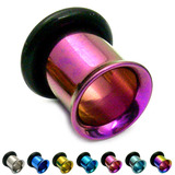 Titanium Flared Eyelets 4mm, Purple