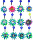Steel Anemone Logo Belly Bars Silicon. Price per banana. Bags of 5. Enter quantity in 5's.