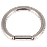 Titanium Bar Closure Ring 1.6mm, 12mm, Mirror Polish