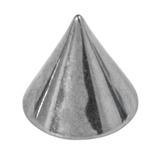Titanium Cones 1.6mm, 4mm, Mirror Polish