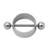 Nipple Rounders with Barbells Plain Nipple Rounder. Steel barbell included.