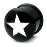 Acrylic Logo Plugs 16-20mm 18 / Star