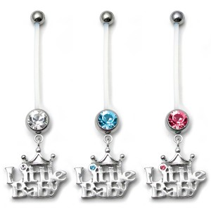 Pregnancy Belly Bars Little Baby (PTFE)