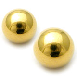 Gold Plated Balls