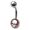 Evil Skull Belly Bar