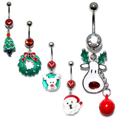 Christmas Belly Bars