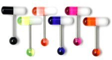 UV Pill Barbell