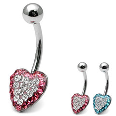 Belly Bar - Glitzy Heart