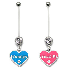 Pregnancy Belly Bars It's a Boy/Girl