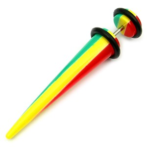 Acrylic Fake Stretcher - Rasta