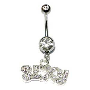 "Belly Bar - Sparkly ""Sexy"""