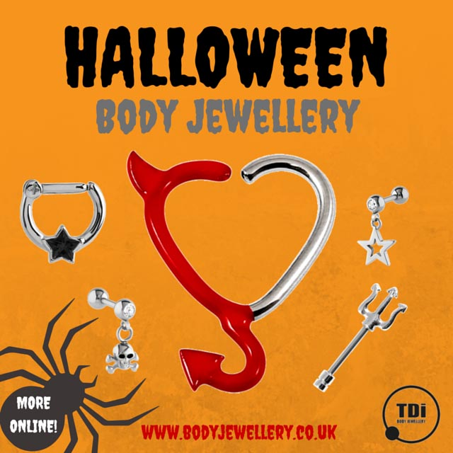 TDi Body Jewellery Halloween Piercing