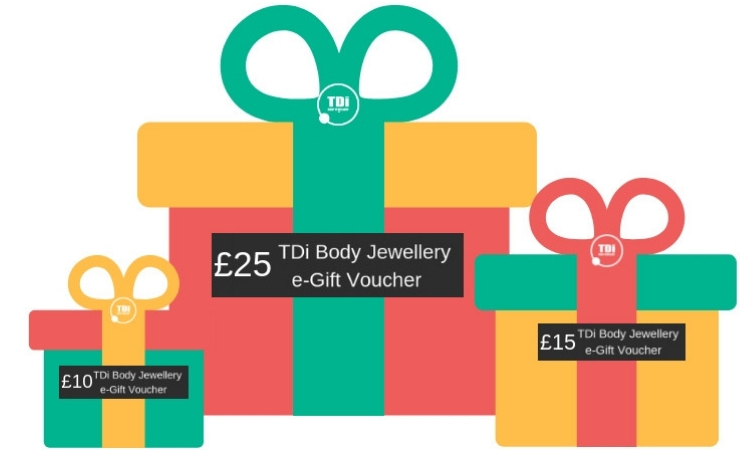 TDi e-Gift Vouchers available £10, 15, £20, £25, £30