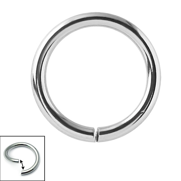 Continuous Twist Ring